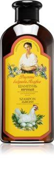 Babushka Agafia Egg hranilni šampon za normalne lase