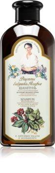 Babushka Agafia Wild Sweet William regeneracijski šampon za poškodovane lase