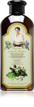 Babushka Agafia Wild Sweet William tisztító sampon hab zsíros hajra