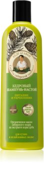 Babushka Agafia Cedar champú nutritivo para cabello debilitado