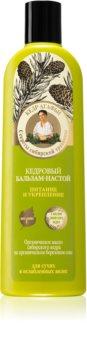 Babushka Agafia Cedar acondicionador nutritivo para cabello debilitado