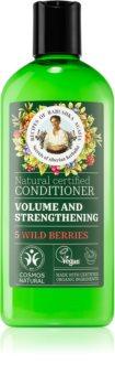 Babushka Agafia Volume & Strengthening 5 Wild Berries acondicionador para dar volumen al cabello