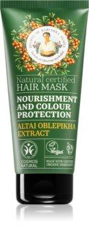 Babushka Agafia Nourishment & Colour Protection maska za barvane lase