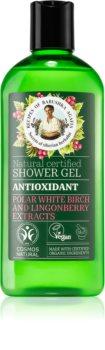 Babushka Agafia Antioxidant tisztító tusoló gél