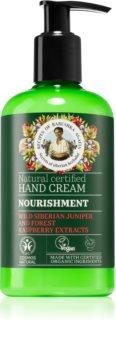 Babushka Agafia Nourishment подхранващ крем за ръце