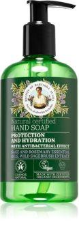 Babushka Agafia Natural Certified Sabão natural para mãos