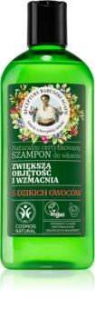 Babushka Agafia Volume & Strengthening 5 Wild Berries erősítő sampon dús hatásért