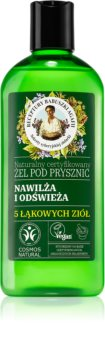 Babushka Agafia Hydration & Freshness hidratáló tusoló gél