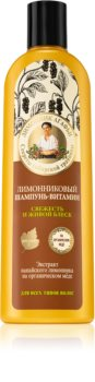 Babushka Agafia Vitamins sampon vitaminokkal