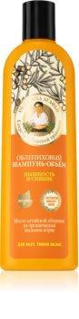 Babushka Agafia Sea Buckthorn champú para dar volumen y brillo