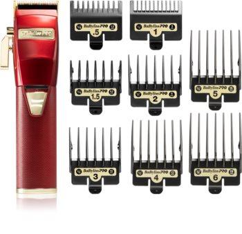 BaByliss PRO FX8700RE Red професионална машинка за подстригване