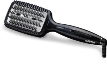 BaByliss Smoothing Heated Brush HSB101E Ironing Hair Brush for Hair