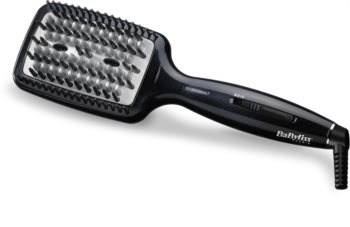 BaByliss Smoothing Heated Brush HSB101E krtača za likanje las za lase