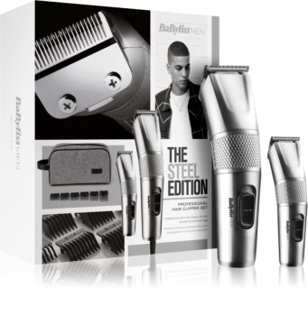 BaByliss Steel Edition 7755PE set voor Mannen