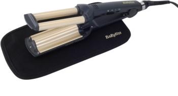 BaByliss Curlers Easy Waves modelador triplo de cabelo para cabelo