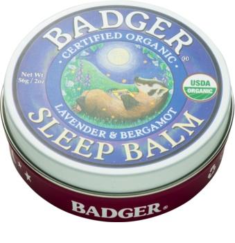 Badger Sleep Ontspanningsbalsem tijdens het slapen
