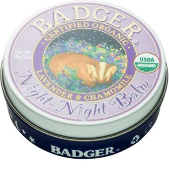 Badger Night Night Bálsamo para un sueño tranquilo