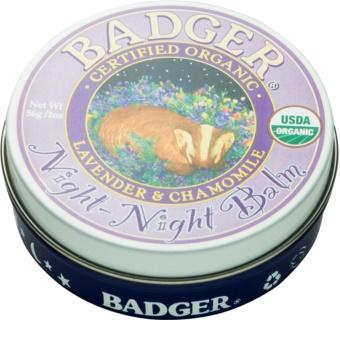 Badger Night Night balzam pre pokojný spánok