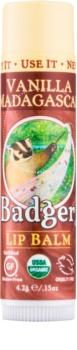 Badger Classic Vanilla Madagascar balzam za usne