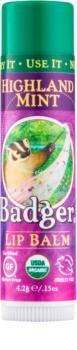 Badger Classic Highland Mint balzam za ustnice
