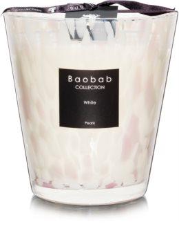 Baobab Pearls White Tuoksukynttilä