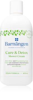 Barnängen Care & Detox pobudzający krem pod prysznic