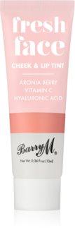 Barry M Fresh Face blush lichid și luciu de buze