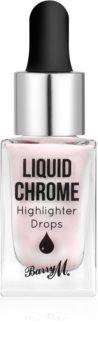 Barry M Liquid Chrome tekutý rozjasňovač s kapátkem
