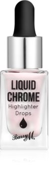 Barry M Liquid Chrome tekutý rozjasňovač s kvapkadlom