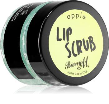 Barry M Lip Scrub Apple szájpeeling