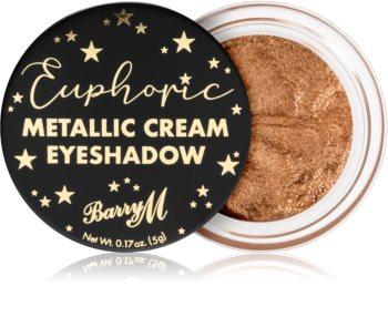 Barry M Euphoric Metallic кремави сенки са очи