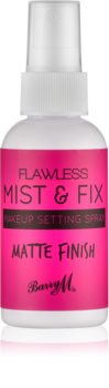 Barry M Flawless Mist & Fix matirajoče pršilo za fiksiranje make-upa