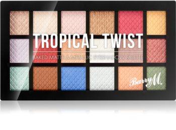 Barry M Tropical Twist paleta očních stínů