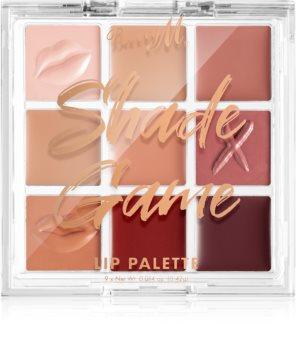 Barry M Shade Game Palette mit Lippenstiften