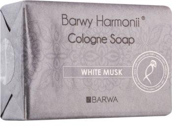 Barwa Harmony White Musk sabonete sólido com efeito alisador