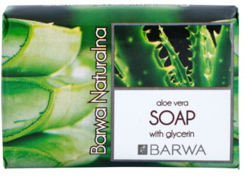 Barwa Natural Aloe Vera Feinseife mit Glycerin