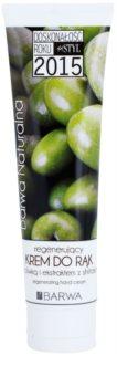 Barwa Natural Green Olive regenerierende Creme für Hände und Fingernägel