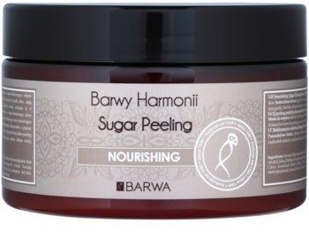 Barwa Harmony Nourishing esfoliante de açúcar para nutrir e limpar a pele com suavidade