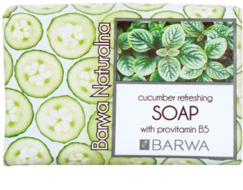 Barwa Natural Cucumber Refreshing Seife mit Provitamin B5