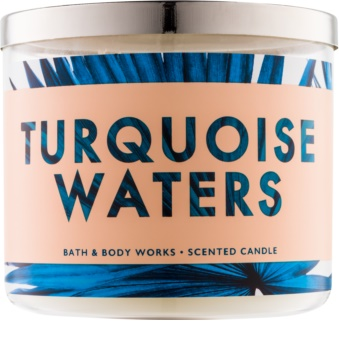 Bath & Body Works Turquoise Waters scented candle
