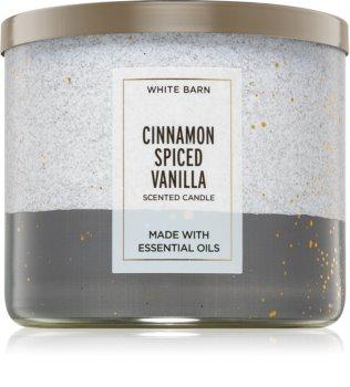Bath & Body Works Cinnamon Spiced Vanilla vonná svíčka II.