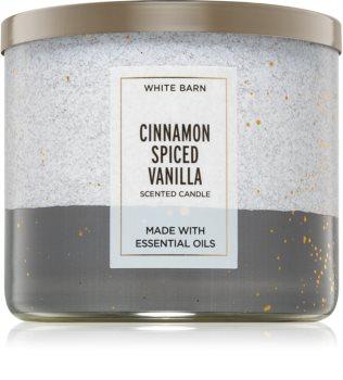 Bath & Body Works Cinnamon Spiced Vanilla αρωματικό κερί ΙΙ.