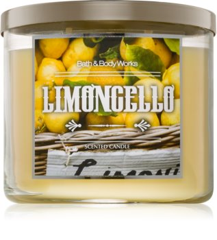 Bath & Body Works Limoncello illatos gyertya