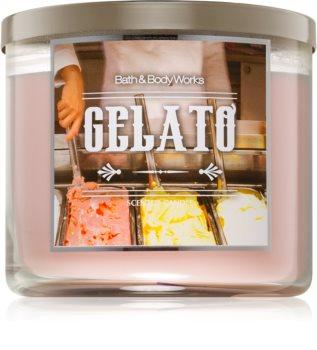 Bath & Body Works Gelato lumânare parfumată
