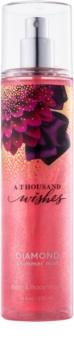 Bath & Body Works A Thousand Wishes Body Spray glittering for Women