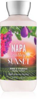 Bath & Body Works Napa Valley Sunset tělové mléko pro ženy 236 ml