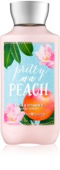 Bath & Body Works Pretty as a Peach telové mlieko pre ženy 236 ml