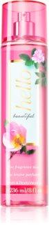 Bath & Body Works Hello Beautiful parfémovaný tělový sprej