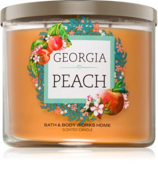 Bath & Body Works Georgia Peach illatos gyertya