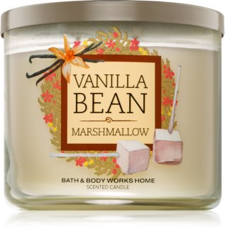 Bath & Body Works Vanilla Bean Marshmallow illatos gyertya
